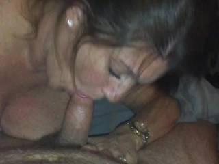 My wife is filmed sucking a strangers cock
