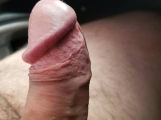 Just a close up of the head of my penis/shaft.  I\'d love comments :)