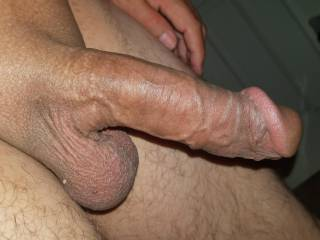 Fat brown cock for you to suck
