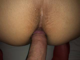 She is a hot horny milf that wants me to fuck her ass
