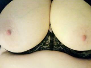 Girlfriends great tits