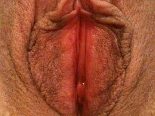 Wet and spread wide open