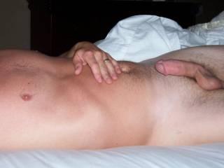 Suckable cock with great looking balls!