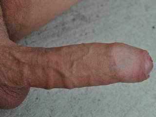 That's a nice cock! Uncut looks good on you!