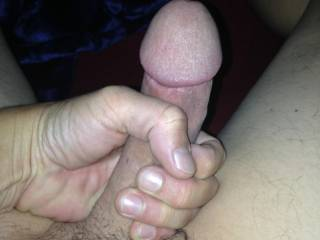 Mmmm, yes...and a definite mouth full.  I'd suck that cock off and swallow it.  MILF K