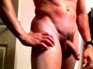 Mmmmm, you are a beautiful man with a beautiful cock.  I can see me kneeling in front of that gorgeous cock sucking it, swallowing it and getting a good taste of it..  oh yes you and that cock are delicious.  MILF K