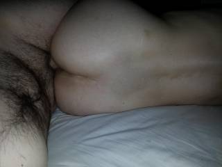 Great looking ass to hide a hard cock in.
