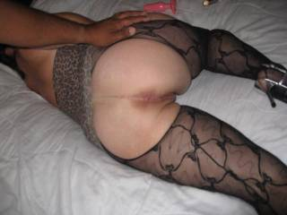 Luv to slip my cock plus balls into ur brown-eye, past ur taut, puckered asshole, into the depths of ur palpitating rectum. After racing up-and-down ur love canal for sensuous moments, arousing you towards an anal-orgasm, I would shoot a load of nourishment, genetic, hot, thick, non-salty / sweet cum into the depths of ur bowels, pushing you over the plateau of the anal-climax (undoubtedly the 1st of ur life) !!! As u return to full reality, ur mouth and throat filled with my cock and balls, u shall vigorously suck, lick and swallow the peanut-butter-colored, cum-soaked residue, cleansing the morsel of manpower and returning it to a full erection and a return to ur asshole and a plunge into the stored reservoir of liquid love, which will also serve as a teflon-like coating for ur palpitating rectum !!! Ur ass is such a beautiful respository, a luscious-looking receptacle for anal-fucking !!!