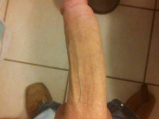 Hard dick from sexting my 21 year old girlfriend