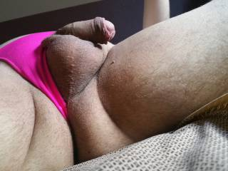 New pink thong