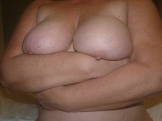 Just a nude photo before bed - they are a little restless.