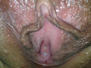 I see why, Id love to lick and suck that pussy wand her big clit,
