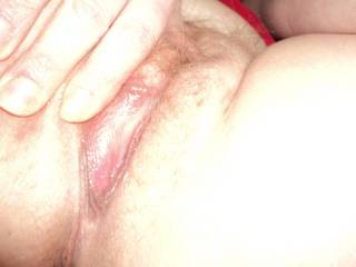 mmmmmmmm thank you babe!!! love your cock you could slide it right in there!!!