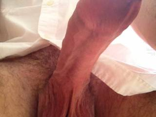 put that big fucker of a cock deep in my pussy n hump them balls off