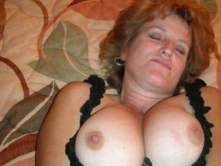 love to slide my cock in between those sweet tits