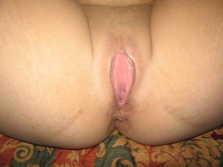 I'd love to lick your sweet pussy until you cum hard all over my eager tongue. Then slide my bare cock inside and fuck you real good until I pump you full of my hot cum!!