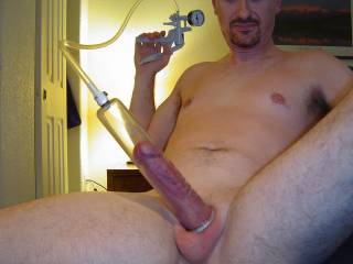 I love cock pumping.