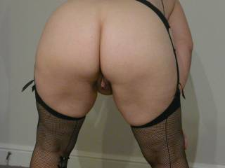 A few more in black lingerie. Closer look at my big bottom.
