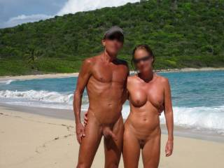 Nice to walk around naked with a hard on. but then again, a sexy lady like yours has that effect on men ;-)