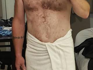 After my shower