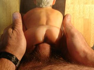 I feel you cock inside my ass! Thank you! Is beautiful! I love it! I love you! Thank you now!