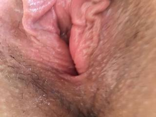 My wife pussy was freshly fucked