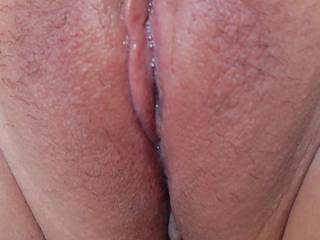 Looks like you have been playing with that pussy you naughty girl, or does it always stay wet?