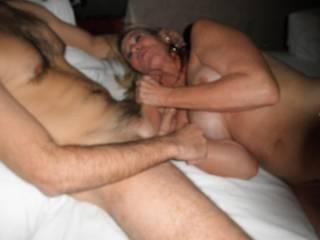 MMMMMMMMMMMMMMM  I WOULD LOVE TO HAVE YOU WORK MY THROBBING HARD COCK LIKE THAT ANYTIME SEXY!!!