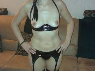 You look awesome and horny in hot lingerie mmm
