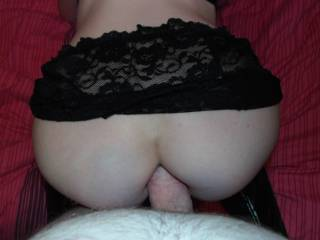 massive anal! would love to hear her moan when that big cock starts in.