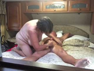 Just have some fun with the wife. Nice cum.