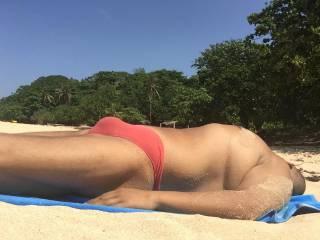 Thong, speedos, beach, philippines, pink