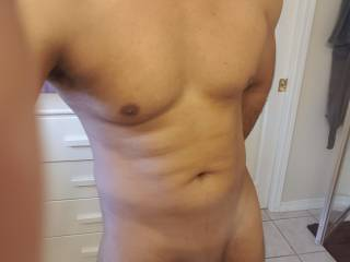 Took this pic while feeling horny