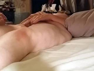 Listen to Beautybird yelp out in Orgasm! We are both working her cunt out hard.... She gettin\' a hand pumped in and out of her cunt and she\'s rubbin\' her clit hard! Sometimes it takes a lot to make her cum.......She\'d love to try two cocks!