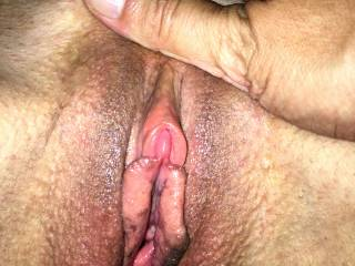 Wood\'s lust. A very wet pussy, vibrating with pleasure.