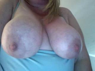 those nipples are tops and so round are your boobs  I cummed for your posts before work today   Thanks