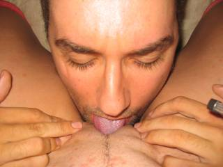 wish that was my pussy you were licking