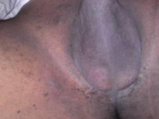 Clean shaved balls