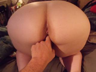 love to lick and finger yr pussy and ass before pushing my cock deep into you and feeling my balls against yr clit