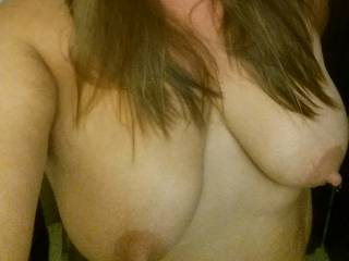 Mmmm, we would love to each be sucking those nipples and make you cum all over us!!!