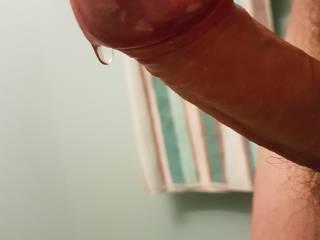Little drop of precum :)
