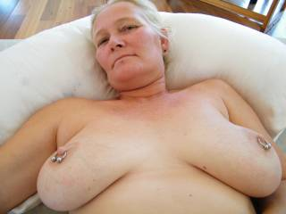 I want to mount you and make you cum with my cock. Those big white titties need a good shakin' and your pussy needs to cum