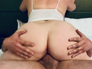 A stranger we met online balls deep in my wife's pussy in our hotel room...
