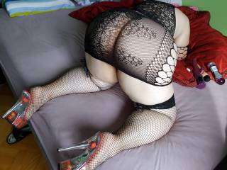Waiting for hard cock