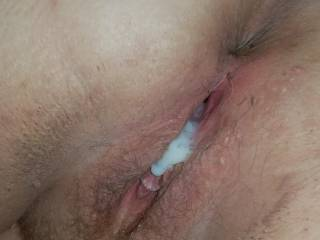 Do you like cum filled bbw pussy?