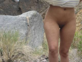 love outdoors id love to have seen you flashing outside i wd have offered u my v thick meat xxxx