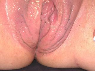 My pussy all pumped up want to get me wetter?