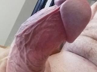 Love to tease throbbing clits with my throbbing knob