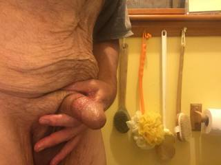 Playing with my dick because no one else will
