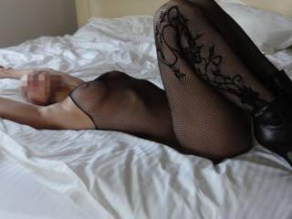 Pictures of sexy ladies bending over in stockings